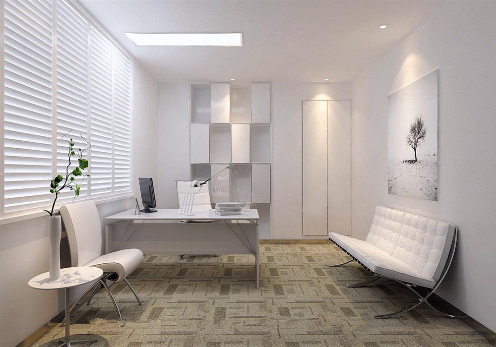 现代简约小办公室装修效果图欣赏