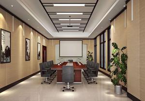 公司会议室装墙面装饰效果图