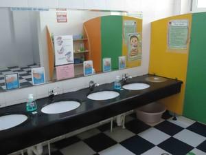 幼儿园小厨房卫生间装修效果图