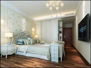 欧式小卧室壁纸装修效果图大全
