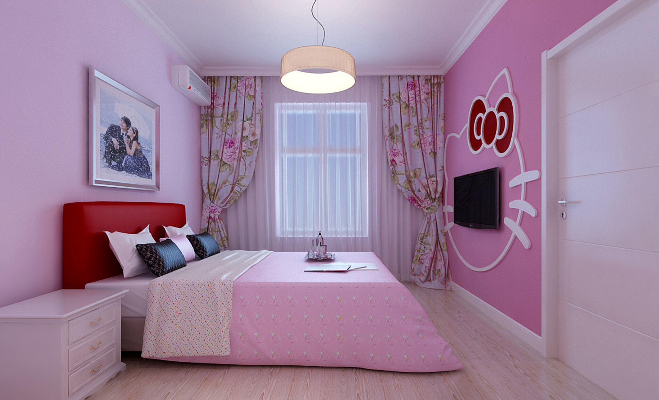 10平米婚房卧室装修效果图大全