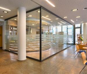 办公室玻璃装修过道效果图大全