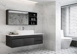 洗手盆在外卫生间在里的装修效果图
