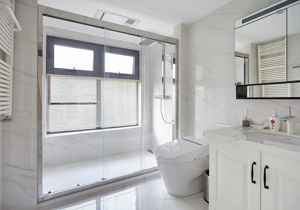 超小正方形卫生间装修效果图大全