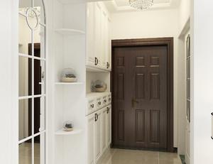 别墅进门玄关设计图纸及效果图大全