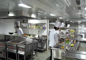 酒店厨房装修效果图