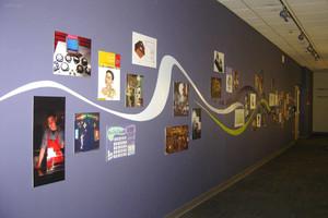 公司形象墙设计效果图