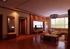 簡單的紅木家具客廳裝修效果圖