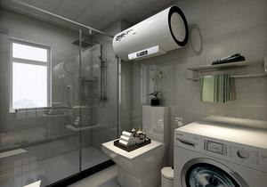 卫生间干湿分离装修效果图欣赏