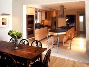 开放式厨房装修效果图大全