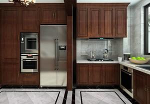 新中式风格厨房效果图
