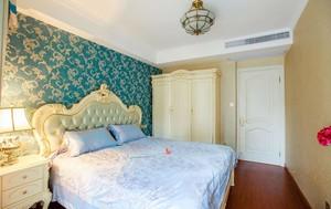 欧式主卧室墙纸效果图欣赏,墙纸卧室搭配效果图欣赏