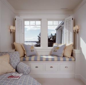 卧室转角窗台装修效果图,客厅与卧室窗台装修效果图大全