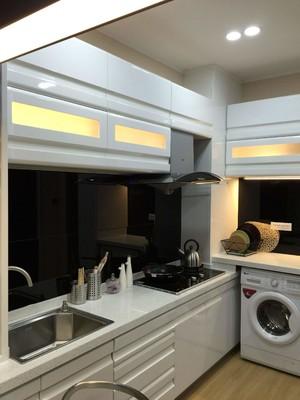 厨房放洗衣机效果图,厨房放洗衣机装修效果图