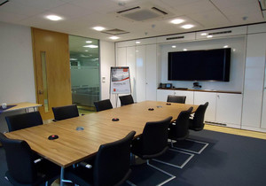 小型会议室装修效果图,小型会议室布置效果图大全