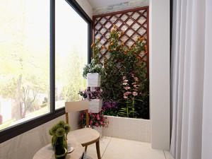 简约现代阳台装修效果图,现代简约的阳台装修效果图大全