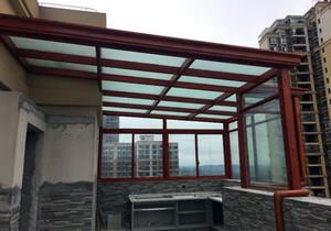 封阳台做阳光棚效果图,欧式阳台阳光棚效果图