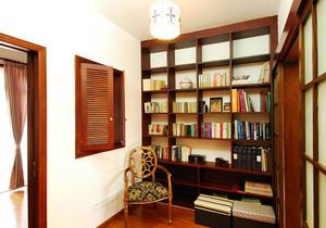 新中式卧室书房装修效果图,新中式别墅卧室书房装修效果图