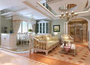 欧式家装设计效果图,欧式房间装修效果图
