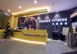 健身房吧台背景墙装修效果图