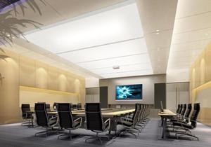 会议室办公室效果图,深圳办公室会议室装修效果图