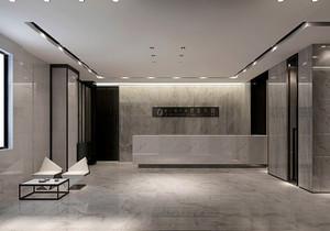 杭州公司前台设计效果图,公司前台接待区效果图