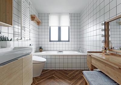 小卫生间创意装修效果图,3平正方形小卫生间装修效果图