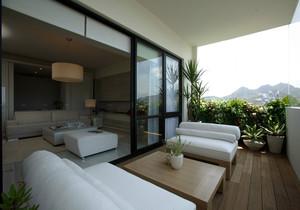 最简单阳台装修效果图,阳台简单大气装修效果图大全