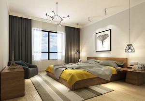 北欧简约卧室风格装修效果图欣赏