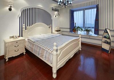 地中海风格飘窗卧室装修效果图大全