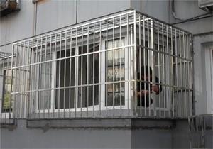 阳台不锈钢飘窗防盗网装修效果图