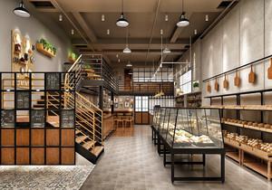 蛋糕店复古装修图,30平米的蛋糕店装修图