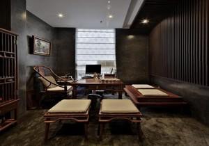 中式会所餐厅装修效果图,私人会所餐厅效果图