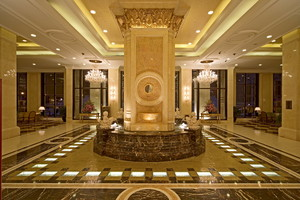 宾馆大厅时尚装修效果图大全,高档宾馆大厅装修效果图