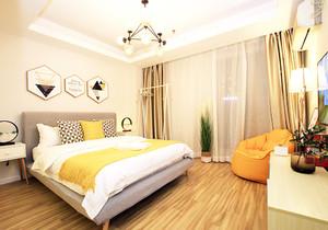 北欧简约风格女生卧室装修效果图大全大全