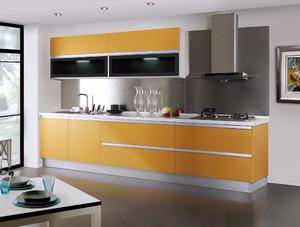 西式小厨房装修效果图,阳台改西式厨房装修效果图
