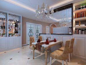 客厅餐厅隔断墙装修效果图,客厅与餐厅电视墙隔断装修效果图大全