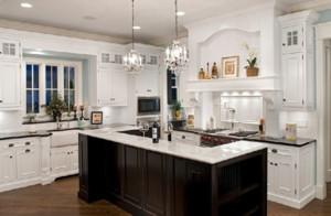 欧式大户型厨房装修效果图大全2015