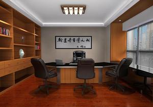 总裁办公室时尚装修图,100平米总裁办公室装修