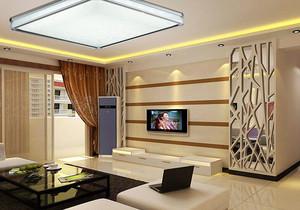客厅吸顶灯具效果图,客厅led水晶吸顶灯效果图
