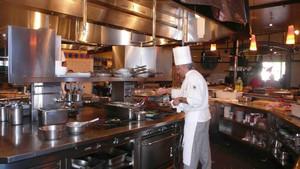 30平方的飯店廚房設計效果圖,飯店廚房衛生間設計效果圖大全