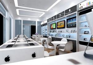 苹果专卖店平面布置图,苹果专卖店平面图