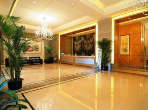 宾馆接待大厅装修效果图,宾馆装修大厅效果图