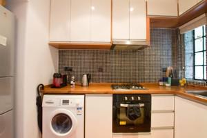 厨房窗帘的装修效果图,客厅厨房窗帘装修效果图欣赏
