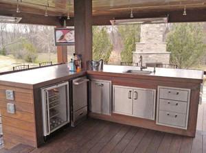 厨房3平米阳台装修效果图,3平米的阳台改厨房装修效果图