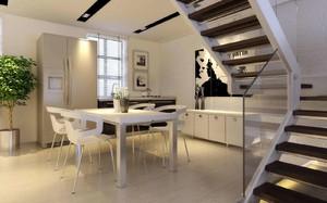 小户型厨房和餐厅一体装修效果图,小户型厨房与餐厅一体装修效果图欣赏