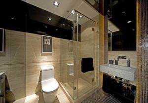 现代简约型卫生间装修效果图大全,小户型现代简约卫生间装修效果图大全