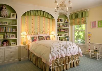 兒童房臥室窗簾效果圖