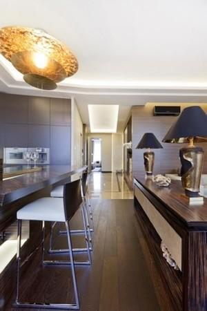简欧风格单身公寓装修效果图欣赏