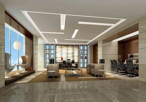 大办公室的装修效果图,大办公室500平方装修设计图片大全